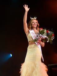 Ashley Ellefson was selected as Miss Door County Outstanding