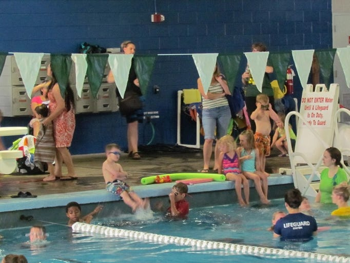 Aquatic activities, especially record numbers of swimming lessons, look to be a popular draw at Stayton Community Pool this summer.