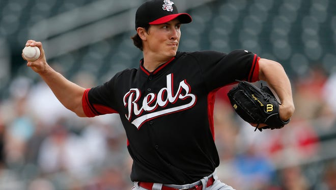 Reds pitcher Homer Bailey throws against the Cleveland Indians in Goodyear on Feb. 27.