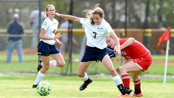 Asheville Christian Academy's Emily Grice (3).