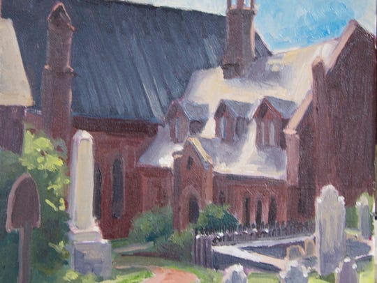 Trinity Episcopal Church in Staunton, VA.