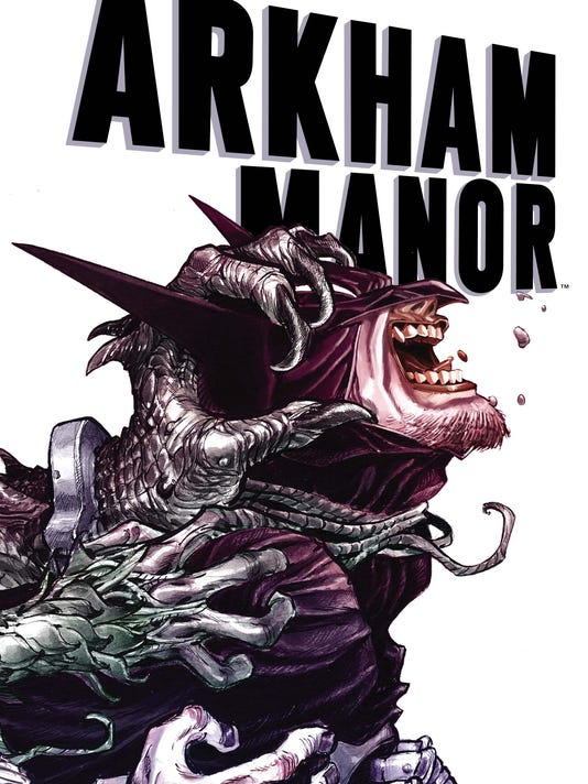 Arkham Manor cover