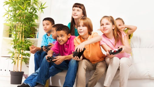 """Friendships are often based on mutual interests,"" he said. ""For better or worse, most kids are spending a substantial amount of time playing video games. Kids who aren't playing video games can feel left out of the conversation."""