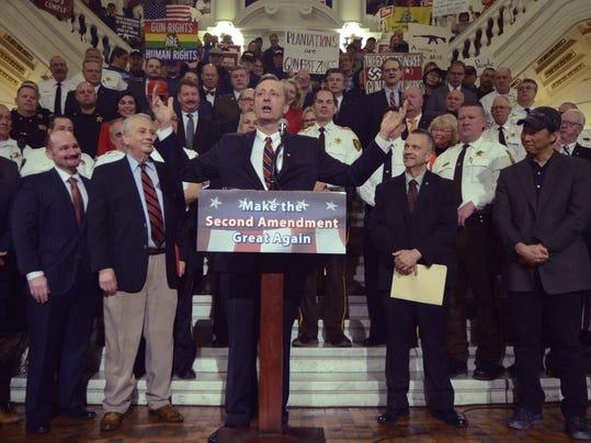 Gun Rights Rally