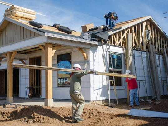 New home construction plunges in phoenix for Building a house in arizona