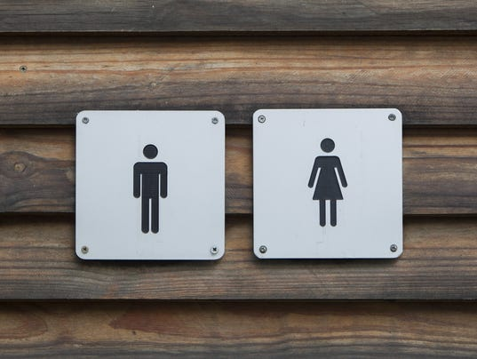 Just Bathroom Signs the imaginary predator in america's transgender bathroom war
