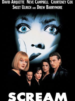 """""""Scream"""" was released in 1996 by Dimension Films. The film was written by Kevin Williamson and directed by Wes Craven."""