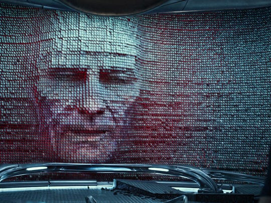 "Bryan Cranston stars as Zordon in ""Saban's Power Rangers."""