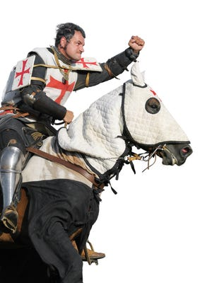 Onward Christian soldiers! This way to Jerusalem and the infidel!