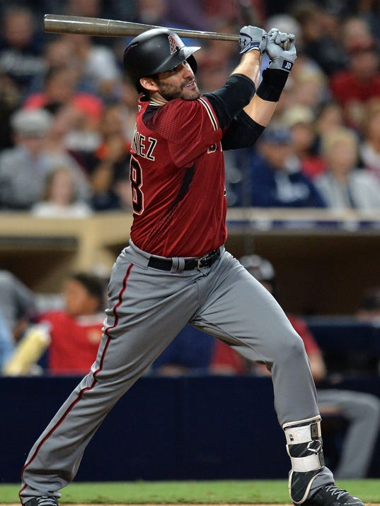 USP MLB: ARIZONA DIAMONDBACKS AT SAN DIEGO PADRES S BBN SD ARI USA CA