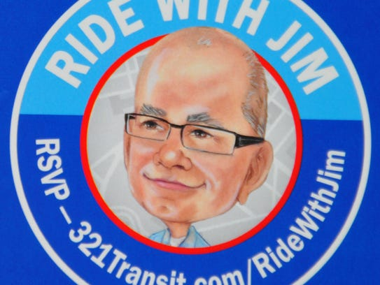 """This is the logo for Space  Coast Area Transit """"Ride"""