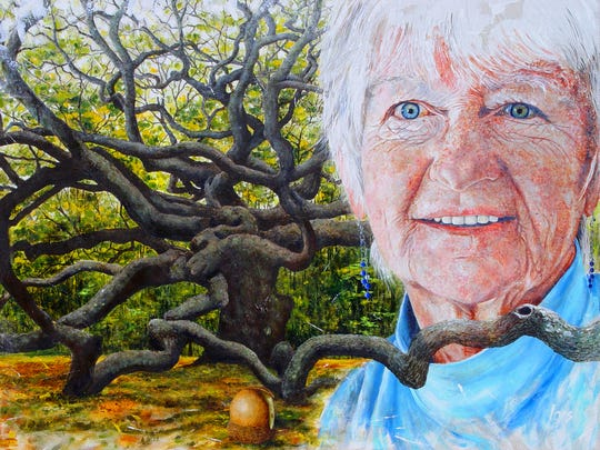 """""""Lois by Lois"""" captures the soul of an artist in Lois Duffy's self-portrait."""