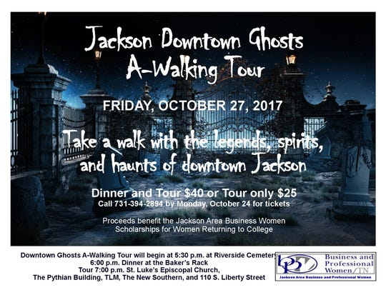 Ghosts A-Walking Tour
