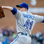 Aaron Sanchez has been one of the American League's best starters this season, but he could be moved to the bullpen later in the year to limit his workload.
