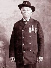 Richard Smith, a Medal of Honor recipient who fought in the Civil War.