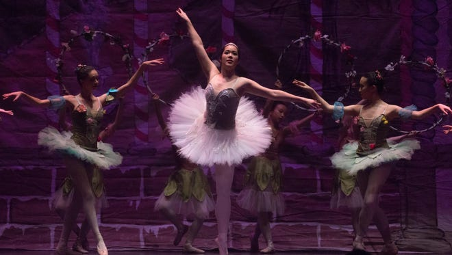 """""""The Nutcracker,"""" Tchaikovsky's timeless Christmas tale, returns to the State Theatre this weekend."""