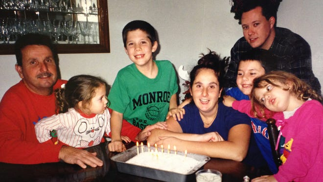 The Boldman family in 2000.