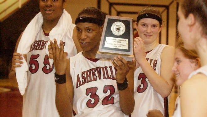 Rashanda McCants and the Asheville High girls basketball team won three consecutive NCHSAA 3-A championships.