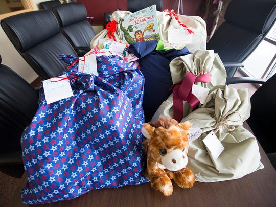 Sweet Dreams donations at the Wisconsin Rapids Daily Tribune office on May 2, 2016.