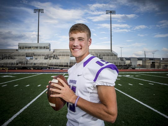 Brownsburg QB Hunter Johnson is among the early favorites for 2016 IndyStar Mr. Football.