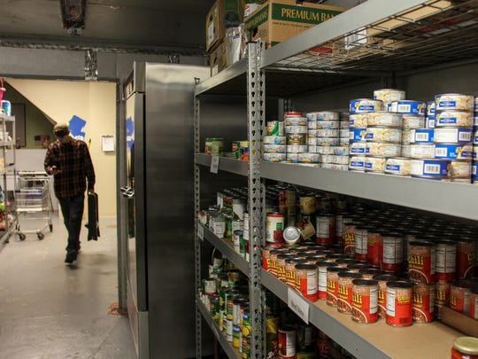 Donated items await those in need at the Visitation Relief Center in Brick at its Mantoloking Road facility.