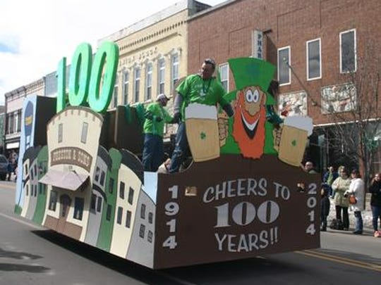 The 14th annual Grand Ledge St. Patrick's Day Parade