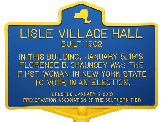 A historic marker will be unveiled Friday to mark first