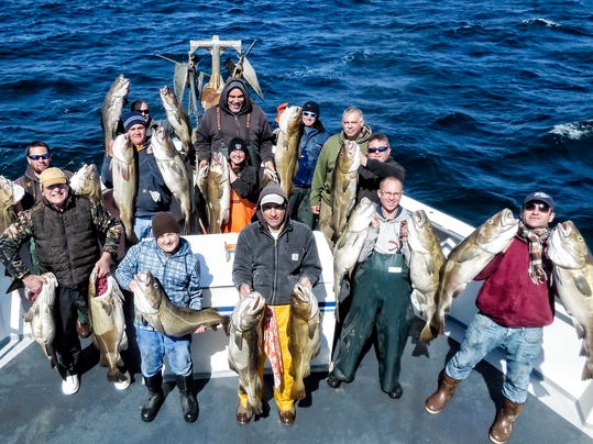 Slowly but surely fishing improves for Voyager deep sea fishing