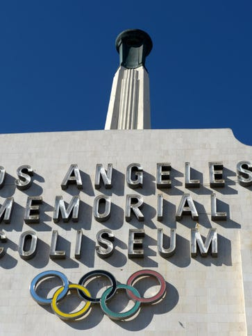 Nov 10, 2012; Los Angeles, CA, USA; General view of