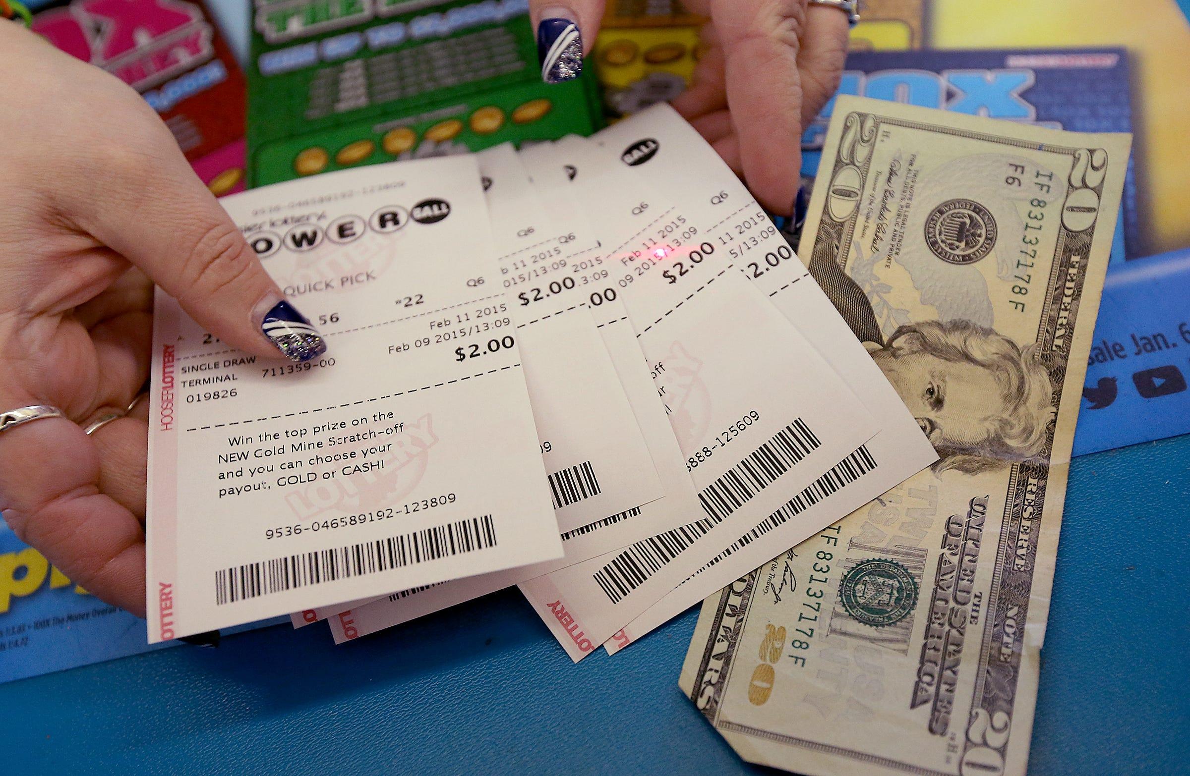 The 1 million cash card prizes for mega