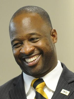 ASU head football coach Brian Jenkins