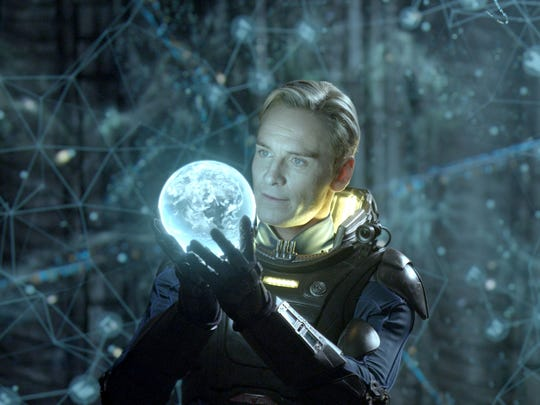 The android David (Michael Fassbender) makes a world-changing