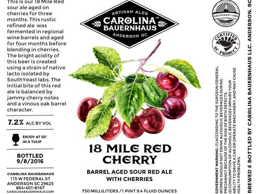 New tart cherry brew