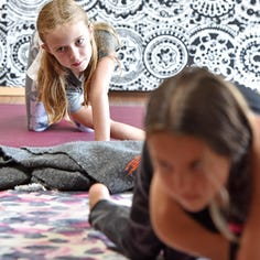Yoga classes help children learn to slow down