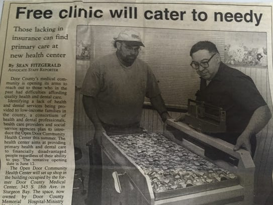 Story on the Open Door Community Health Center that