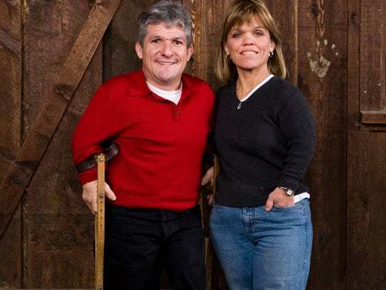 (L-R) Matt and Amy Roloff star in the television series Little People Big World. --- DATE TAKEN: rec'd 03/08  By John Keatley   TLC        HO      - handout   ORG XMIT: ZX67223