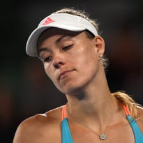 No.1 Angelique Kerber is out of Australian Open