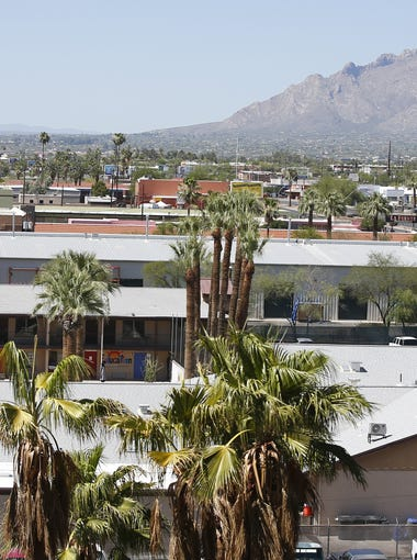 Exterior of Southwest Key in Tucson, on June 20, 2018. Southwest Key, a non-profit, runs shelters for immigrant children.