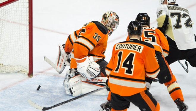 Not much went right for the Flyers in a 4-1 loss to the Pittsburgh Penguins Saturday.