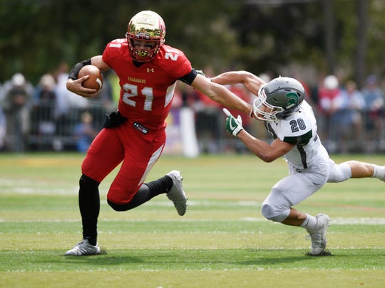 Bergen Catholic quarterback Johnny Langan and the Crusaders will take on St. Peter's Prep on Saturday.