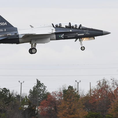 Lockheed builds its case for Air Force training jet contract
