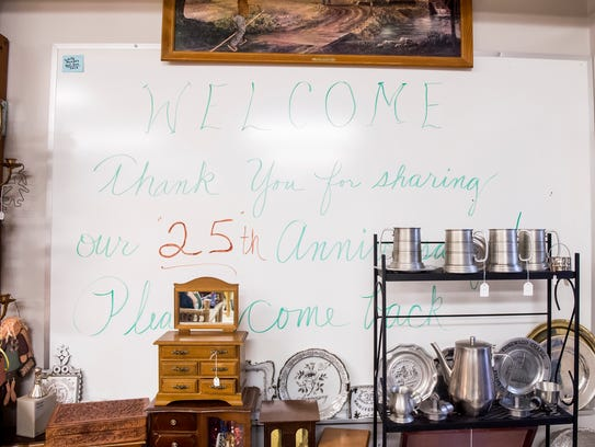 St. Vincent's Thrift Shop in Hanover Borough recently