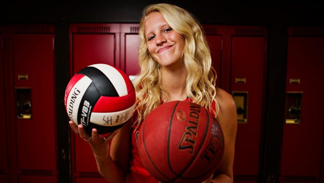 Harlan's Jess Schaben is the 2015 Des Moines Register girls' athlete of the year.