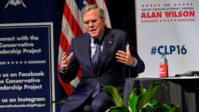 The Conservative Leadership Project continues their Presidential Forum Series with 2016 presidential candidate and former Florida Gov. Jeb Bush at Furman University's McAlister Auditorium on Friday, October 2, 2015. The event is moderated by South Carolina Attorney General Alan Wilson.