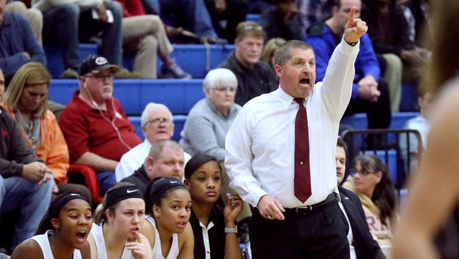 Riverdale girls basketball coach Randy Coffman was named Girls Basketball Coach of the Year by the National High School Coaches Association.