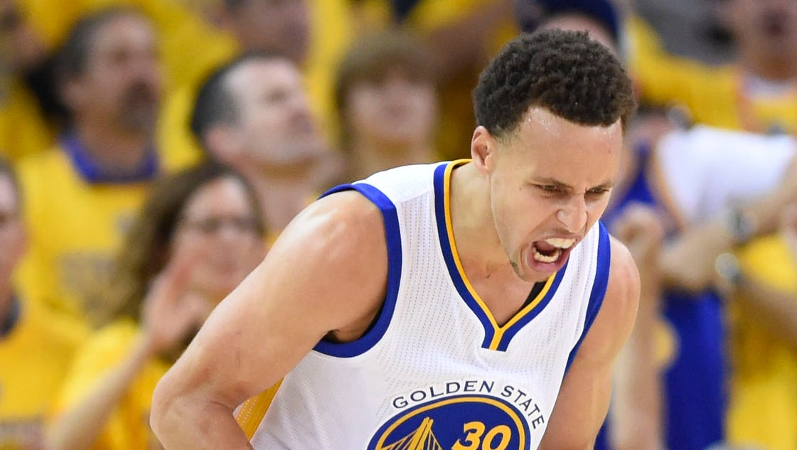 Stephen Curry finally has his MVP moment in these NBA Finals