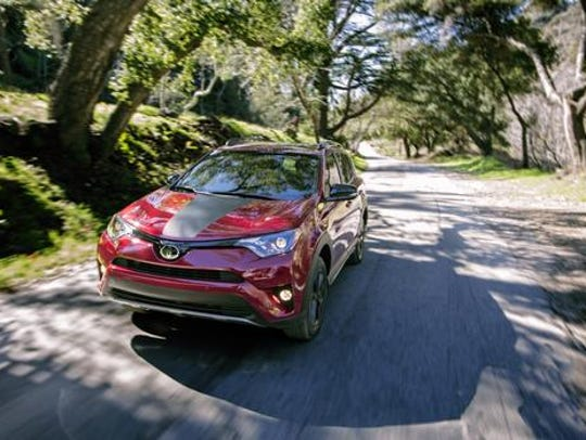 The 2018 Toyota RAV4 Adventure.