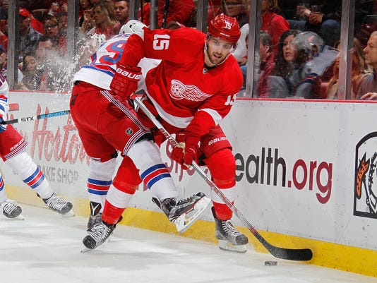 New York Ranges v Detroit Red Wings