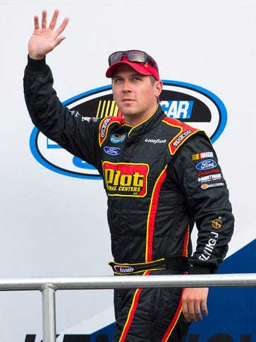 Michael Annett will be eligible for all 36 Sprint Cup