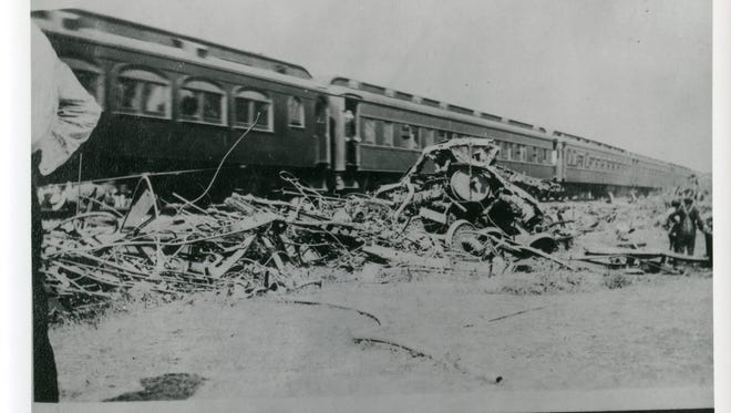 The Hagenbeck-Wallace Circus train wreck of June 22, 1918, killed en estimated 86 and injured 127 of the 400 performers and roustabouts aboard the train near Hammond Ind. The circus, one of the largest at the time,   was heading to Hammond for a performance when an empty troop train piloted by engineer Alonzo Sargent, who had been previously fired for sleeping on the job,  barreled into the circus train from behind at full speed destroying three sleeping cars. Many of those killed in the collision and subsequent fire are buried in a mass grave at Showmen's Rest in Woodlawn Cemetery in Forest Park, Ill.